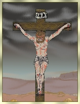 He was nailed to the cross to atone for my sins